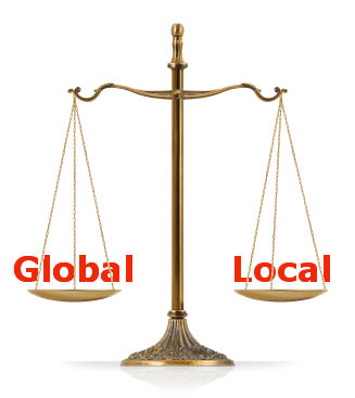 global vs local Variable scope: global vs local a variable's scope is the range of the script where it is visible variables have either global or local scope.